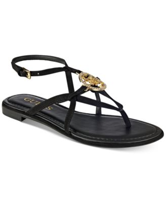 Image of GUESS Women's Romie Flat Sandals