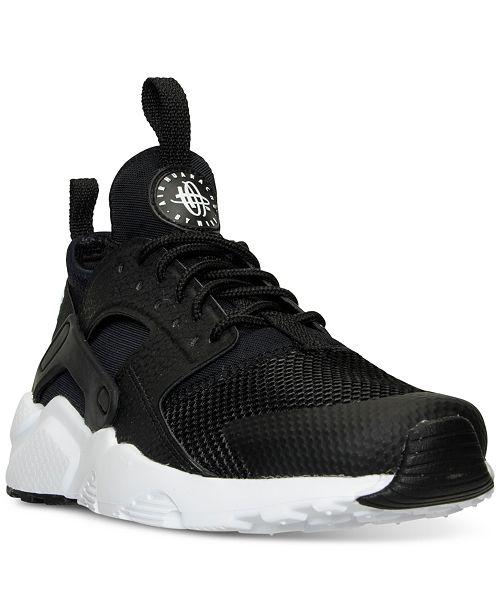 68f24e9de ... Nike Big Boys' Air Huarache Run Ultra Running Sneakers from Finish ...