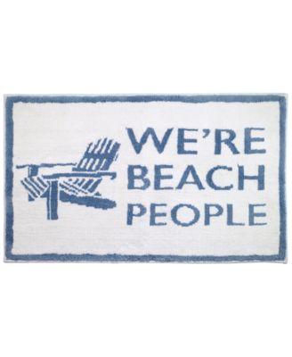"""Beach Words 20"""" x 30"""" Rug"""