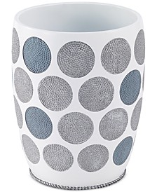 Dotted Circle Wastebasket