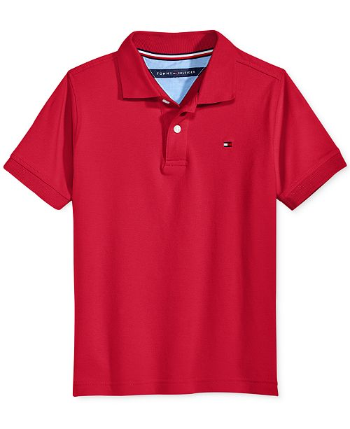 a81cc26a41e61 Tommy Hilfiger Toddler Boys Ivy Stretch Polo Shirt   Reviews ...