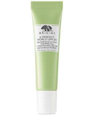 A Perfect World SPF 20 Age-Defense Eye Cream With White Tea, 0.5 oz