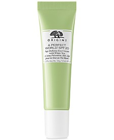 A Perfect World SPF 20 Age-Defense Eye Cream With White Tea, 0.5 oz