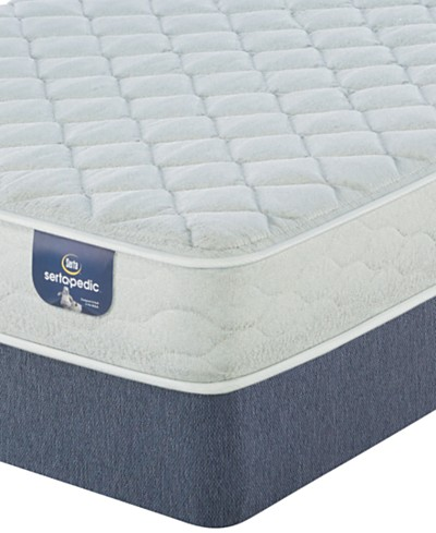Sertapedic® Calm Mist 7.5 Plush Mattress Set- Queen