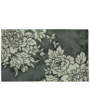 Bacova Cashlon Big Blooms 27 x 45 Accent Rug Bedding