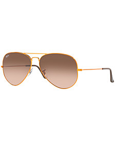 Ray-Ban Sunglasses, RB3026 AVIATOR LARGE GRADIENT