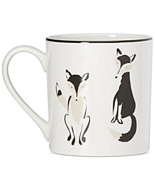 kate spade new york Wickford Forest Drive Accent Mug