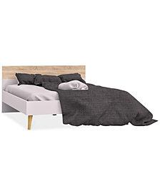 Sorena Queen Bed, Quick Ship