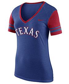Nike Women's Texas Rangers Fan Top