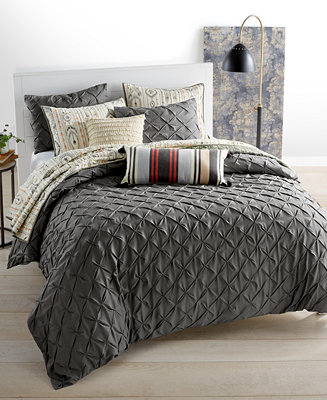 Martha Stewart Collection You Compleat Me Smoke Bedding