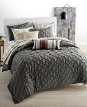 Whim by Martha Stewart Collection You Compleat Me Smoke Comforter Sets, Created for Macy's