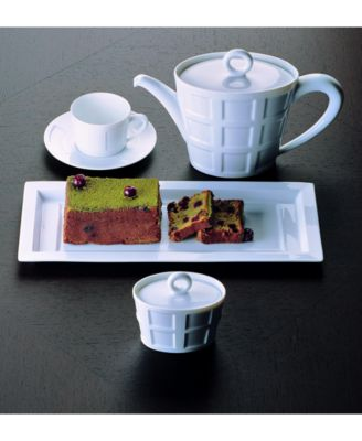 The Naxos dinnerware and dishes collection from Bernardaud inspired by the decorative ceilings of the Renaissance exemplifies a contemporary yet classic ... & Bernardaud Naxos Dinnerware Collection - Fine China - Macyu0027s