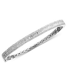 Classique by EFFY Diamond Diamond Bangle in 14k White or Yellow Gold (1-9/10 ct. t.w.)