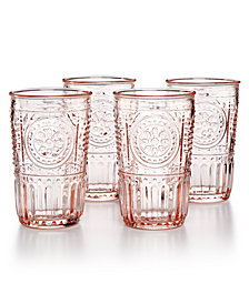 Bormioli Rocco Romantic 4-Pc. Tumbler Set