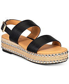 Seven Dials Berenice Flatform Espadrille Sandals