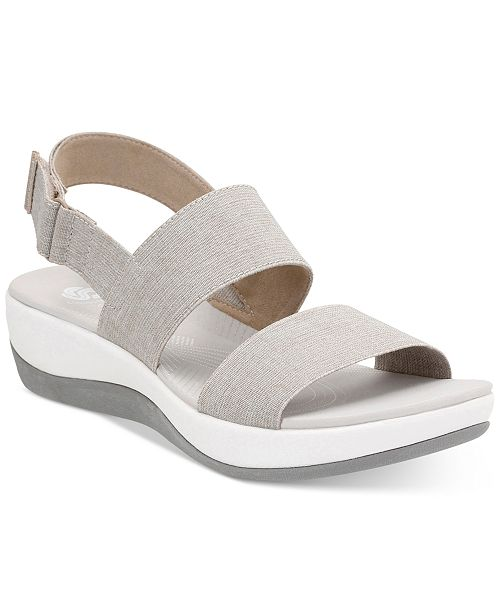 800ec4cff26 CLARKS Womens Arla Jacory Wedge Sandal -
