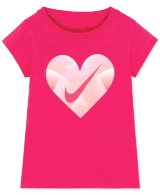 Image of Nike Graphic-Print T-Shirt, Toddler & Little Girls (2T-6X)