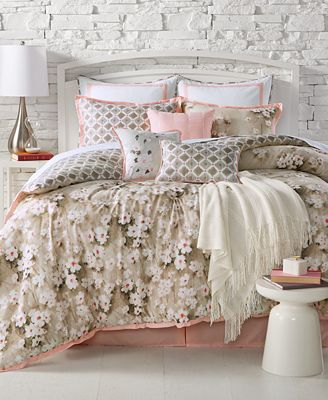 CLOSEOUT! Kelly Ripa Home Anisa Reversible 10-Pc. Comforter Sets