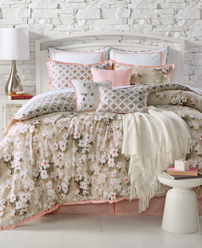 CLOSEOUT! Kelly Ripa Home Anisa Reversible 10-Pc. Queen Comforter Set