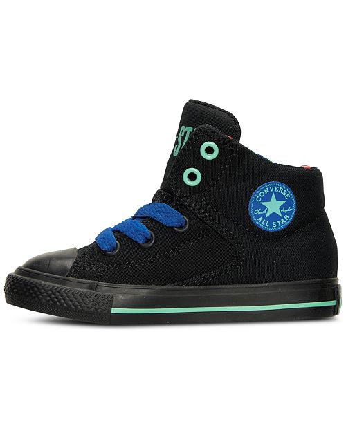 991d8d15e04aed ... Converse Toddler Boys  Chuck Taylor High Street High Top Casual Sneakers  from Finish ...