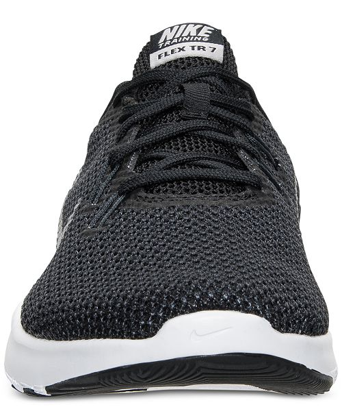f21d30a3d19c Nike Women s Flex Trainer 7 Wide Training Sneakers from Finish Line ...