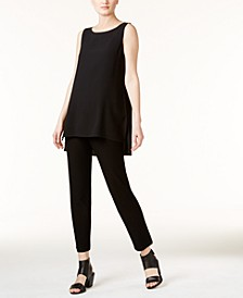 Silk Tunic & Ankle Pants