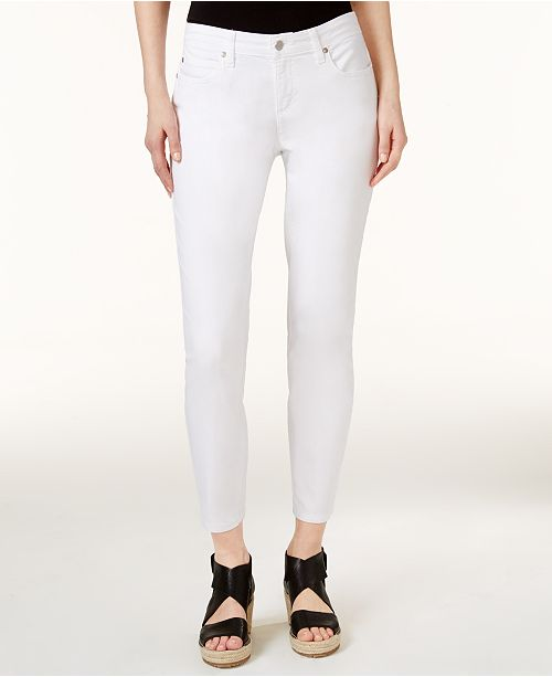 Eileen Fisher Slim-Fit Ankle Jeans, Regular & Petite