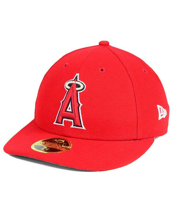 New Era Los Angeles Angels of Anaheim Low Profile AC Performance 59FIFTY Cap