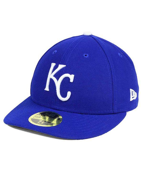 New Era Kansas City Royals Low Profile AC Performance 59FIFTY Cap