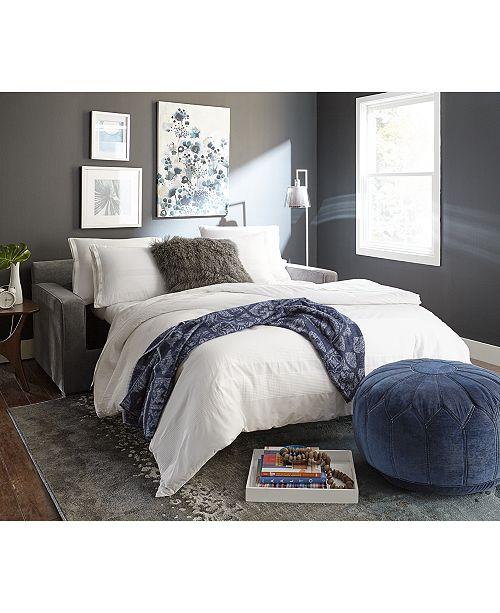 furniture radley 74 fabric full sleeper sofa bed created for