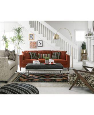 Vonna Fabric Sofa Collection Created For Macys