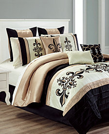 CLOSEOUT! Broussard 14-Pc. Comforter Sets