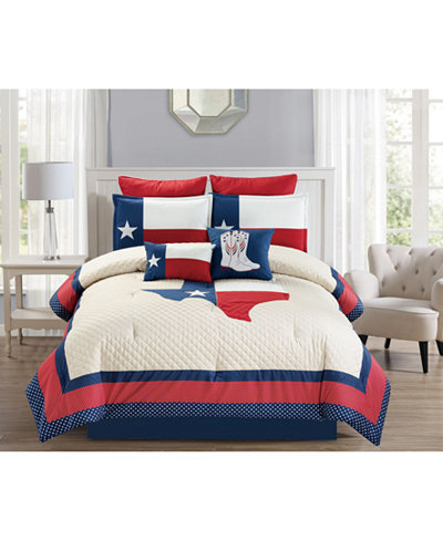 Ryden 8-Pc. Quilted King Comforter Set