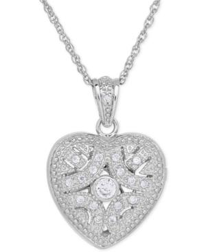 Cubic Zirconia Heart...
