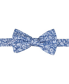 Ryan Seacrest Distinction™ Men's Palisades Floral Pre-Tied Bow Tie, Created for Macy's