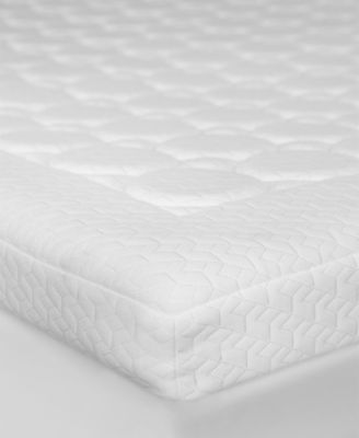 "3.5"" Memory Foam Micro-Coil Twin Mattress Topper"