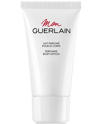 Receive a FREE Body Lotion with any large spray purchase from the Guerlain Mon Guerlain fragrance collection