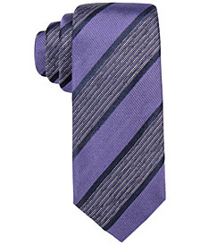 "Alfani Men's Purple 2.75"" Slim Tie, Created for Macy's"