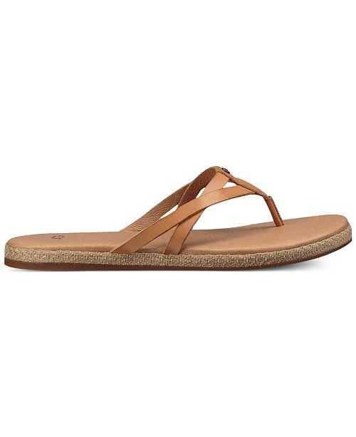 6eb68870ab5 UGG® Annice Flip-Flop Sandals & Reviews - Sandals & Flip Flops ...
