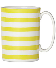 kate spade new york With A Twist Accent Mug, Created for Macy's
