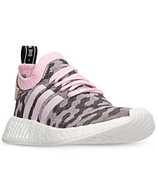 adidas Women's NMD R2 Primeknit Casual Sneakers from Finish Line