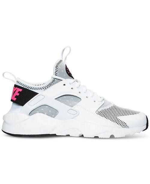 214e5cd7b0248 ... Nike Big Girls  Air Huarache Run Ultra Running Sneakers from Finish Line  ...