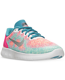 Nike Little Girls' Free Run 2 Running Sneakers from Finish Line