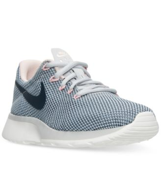 Image of Nike Women's Tanjun Racer Casual Sneakers from Finish Line