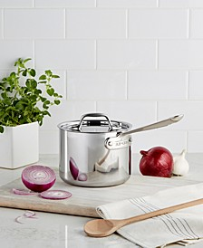 Stainless Steel 2 Qt. Covered Saucepan