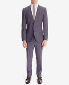 BOSS Men's Slim-Fit Wool Suit