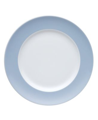 Thomas by  Sunny Day Pastel Blue Salad Plate