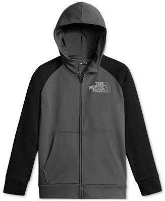 The North Face Surgent Fleece Zip Up Hoodie Big Boys 8