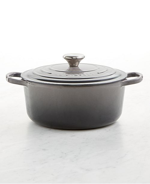 Le Creuset Signature Enameled Cast Iron 5½ Quart Round French Oven On Top Of