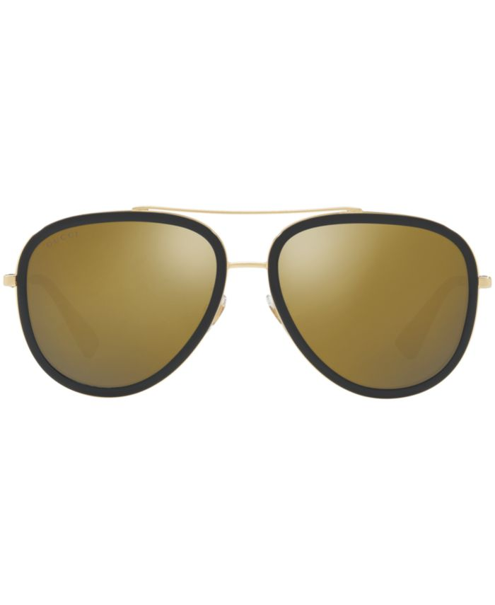Gucci Sunglasses, GG0062S & Reviews - Sunglasses by Sunglass Hut - Handbags & Accessories - Macy's